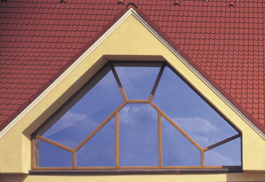 Atypické drevené eurookno<br> Autor: Madleniak drevovýroba s.r.o., Dulovce
