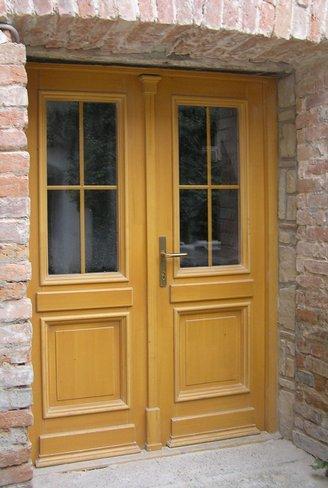 Drevené dvere <br> Autor: Drevovýroba Wittgruber, Pezinok