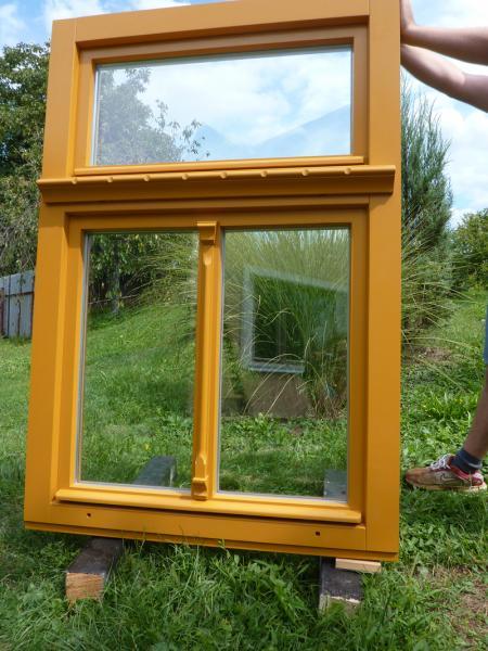 Drevené okno na chalupu<br> Autor: Stolárstvo Martin Tabiš, Sobrance