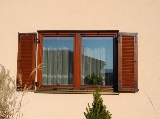 Eurookno so skladacími okenicami<br> Autor: Biky-Marketing, s.r.o., Žilina