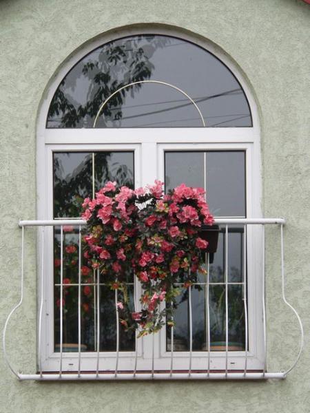 Oblúkovité plastové okno<br> Autor: KOPLAST s.r.o., Ružomberok
