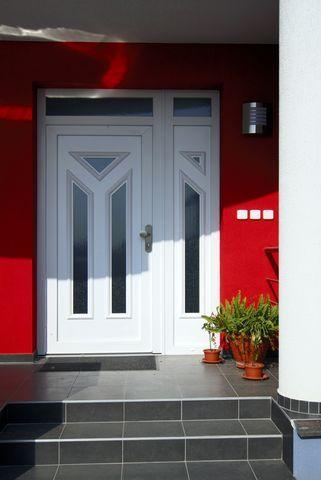 Plastové vchodové dvere<br> Autor: GROB-TEAM s.r.o., Chorvátsky Grob