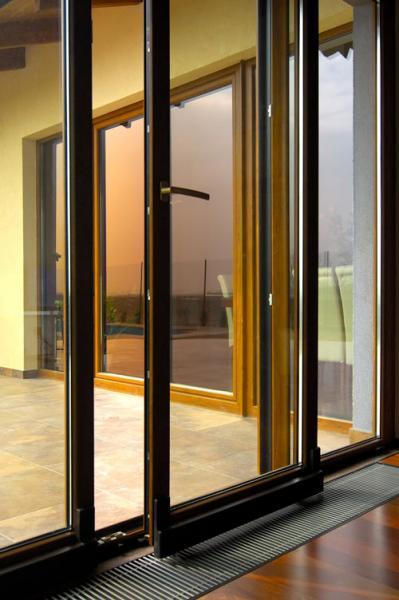 Posuvné terasové dvere <br> Autor: PRIMAOKNO s.r.o,, Bratislava