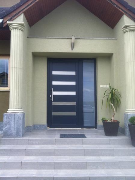 Vchodové dvere - plast<br> Autor: Pilarčík Ľuboš - RABSTAV